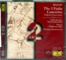 莫札特:五首小提琴協奏曲&交響協奏曲 Mozart:The 5 Violin Concertos & Sinfonia Concertante