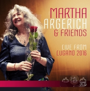 阿格麗希2016盧加諾音樂節 3CD Martha Argerich & Friends:Live from Lugano 2016