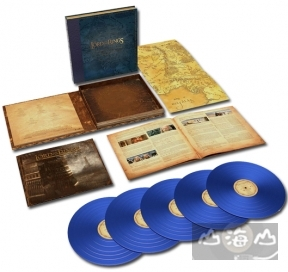 【彩膠唱片LP】魔戒二部曲:雙城奇謀 The Lord Of The Rings: The Two Towers - The Complete Recordings (Blue Vinyl)