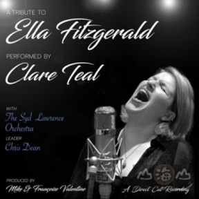 【黑膠唱片LP】蒂爾向艾拉費茲傑羅致敬 ( 180 克直刻 LP ) Clare Teal with the Syd Lawrence Orchestra - A Tribute To Ella Fitzgerald