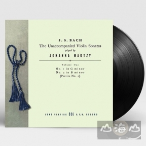 【黑膠唱片LP】巴哈 無伴奏小提琴奏鳴曲 Bach:The Unaccompanied Violin Sonatas & Partitas Vol.1 LP New