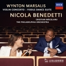 馬沙利斯:小提琴協奏曲&提琴舞蹈組曲 WYNTON MARSALIS VIOLIN CONCERTO AND FIDDLE DANCE SUITE