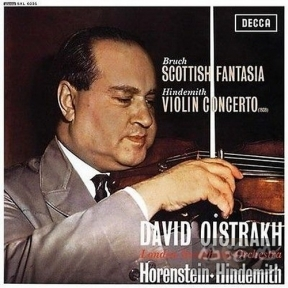 【SACD】布魯赫:蘇格蘭幻想曲 Bruch: Scottish Fantasia/Hindemith: Violin Concerto