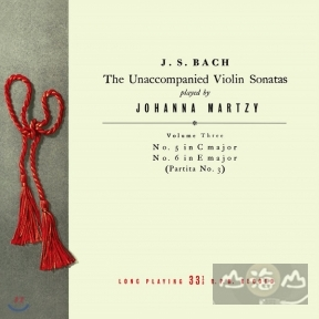 【黑膠唱片LP】巴哈 無伴奏小提琴奏鳴曲 3 Bach:The Unaccompanied Violin Sonatas & Partitas Vol.3