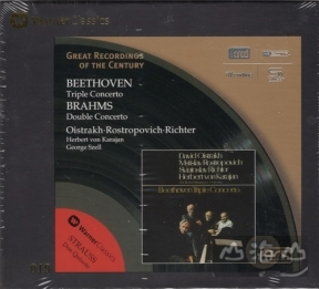 【XRCD】【SHMCD】貝多芬:三重協奏曲&布拉姆斯:雙重協奏曲  BeethovenTriple Concerto&Brahms:Double Concerto
