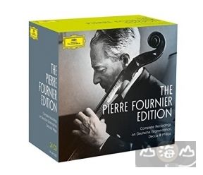 傅尼葉大提琴 DG、DECCA 與 PHILIPS 錄音全集(25CD) The Pierre Fournier Edition / Complete Recordings on DG,Decca