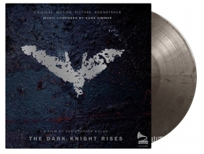 【黑膠唱片LP】黑暗騎士:黎明昇起-電影原聲帶 Batman:The Dark Knight Rises (SILVER & BLACK MARBLED VINYL)