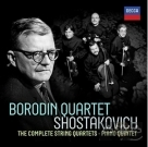蕭士塔高維契:弦樂四重奏&鋼琴五重奏全集 The Complete Shostakovich String Quartets & Piano Quintet