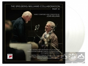 【黑膠唱片LP】約翰威廉士與史蒂芬史匹柏作品 3 THE SPIELBERG/WILLIAMS COLLABORATION PART III (Transparent Vinyl)