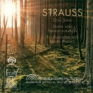 【預購】【SACD】史特勞斯:唐璜、死與變容、狄爾的惡作劇 STRAUSS - Don Juan; Death and Transfiguration and Till Eulenspiegel; Merry Pranks