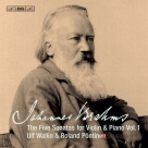 【SACD】布拉姆斯:5首小提琴奏鳴曲第1集 Brahms:The 5 Sonatas for Violin & Piano,Vol.1