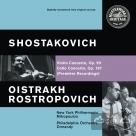 SHOSTAKOVICH:VIOLIN & CELLO CONCERTOS