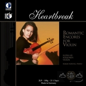 【黑膠唱片LP】「心碎」浪漫小提琴之聲「Heartbreak」Romantic Encores For Violin